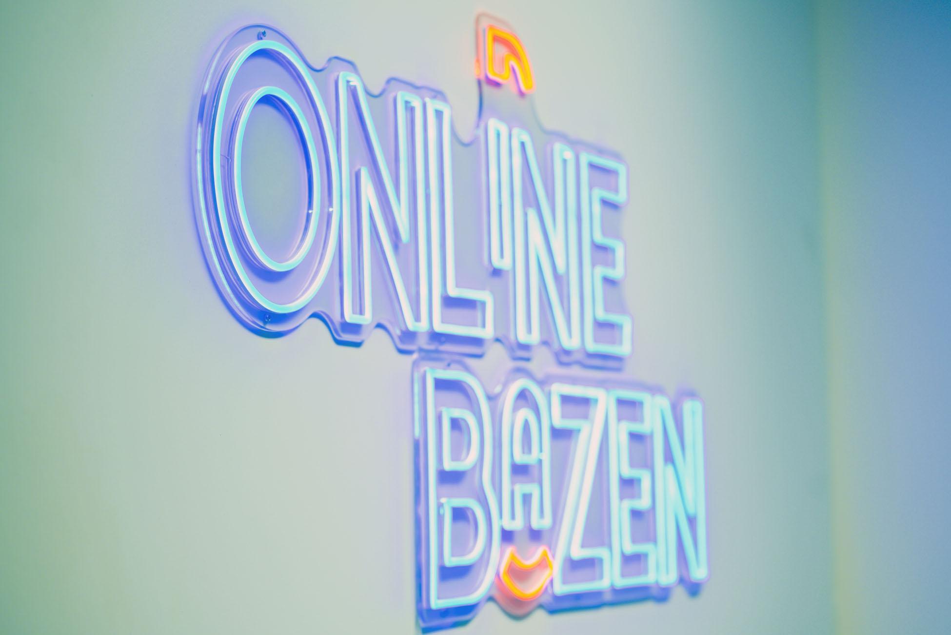 Logo Online Bazen op de muur